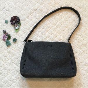 Kate Spade Gray Felt Handbag